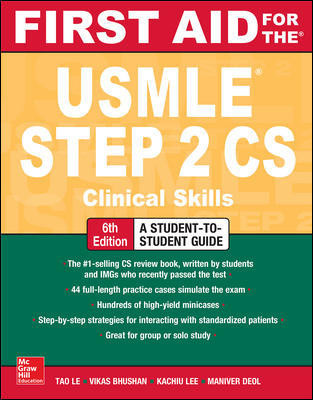 First Aid for the USMLE Step 2 CS - 6e