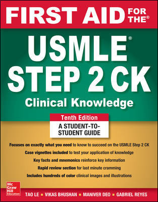 First Aid for the USMLE Step 2 CK - 10e
